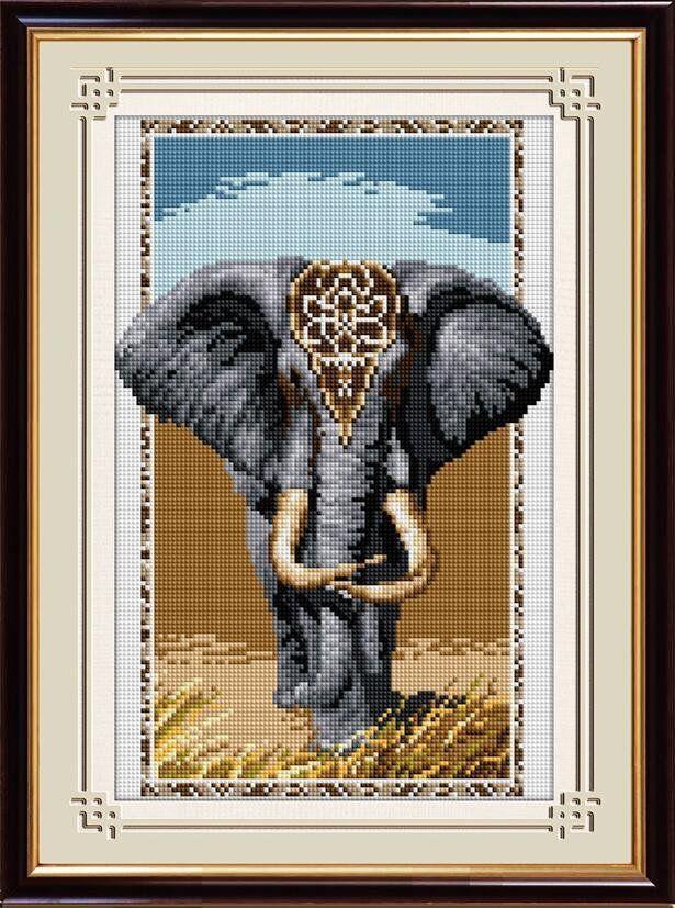 30318 Набор алмазной мозаики Слон