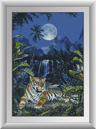 30319 Набор алмазной мозаики Лунный тигр, фото 2