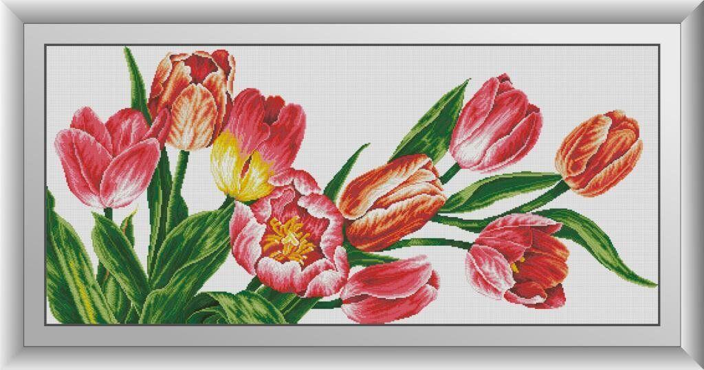 30322 Набор алмазной мозаики Красота тюльпанов