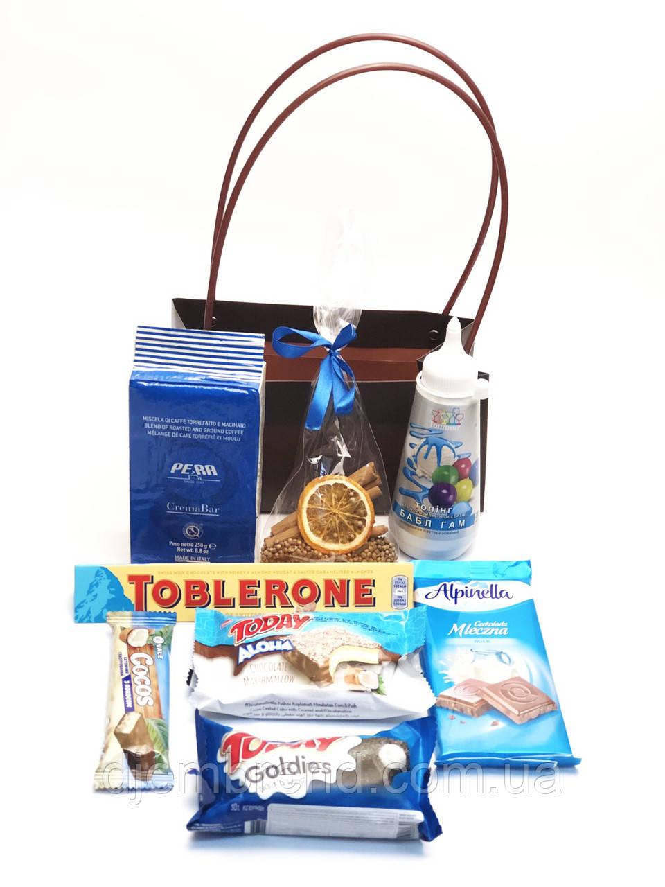 Подарочный набор Топпинг Бабл-гам, Таблерон, Альпинелла, к Новому году