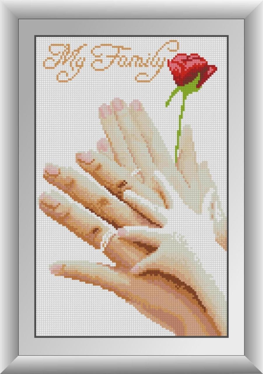 30346 Набор алмазной мозаики Моя семья