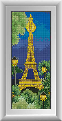 30347 Набор алмазной мозаики Париж, фото 2