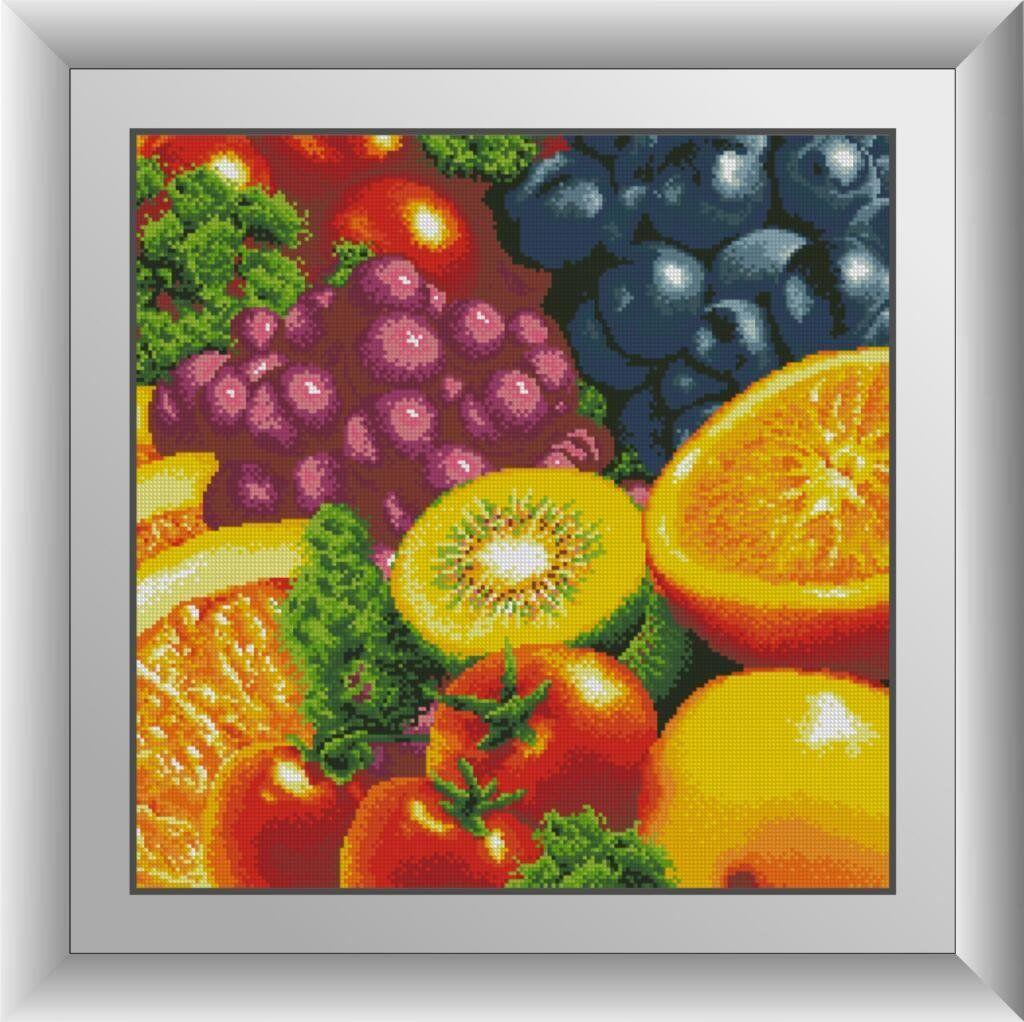 30402 Набор алмазной мозаики Свежие фрукты