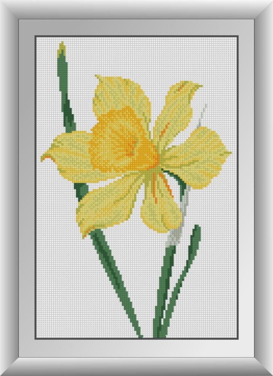 30407 Набор алмазной мозаики Нарцисс