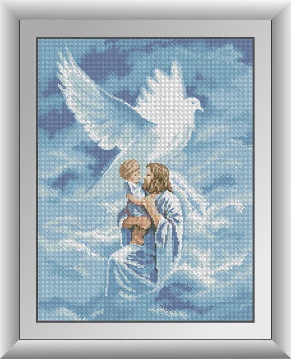 30423 Набор алмазной мозаики Святой дух