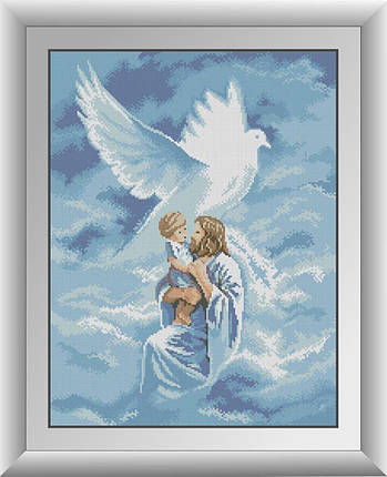 30423 Набор алмазной мозаики Святой дух, фото 2