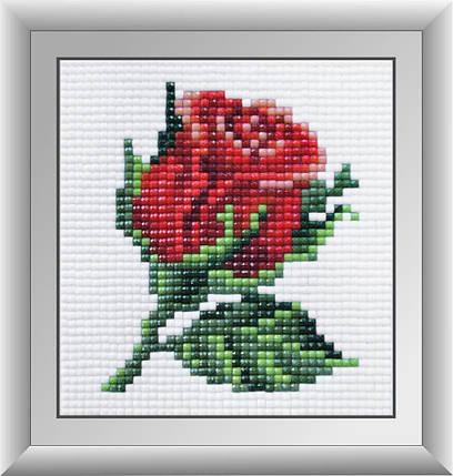 30432м Набор алмазной мозаики Красная розочка, фото 2