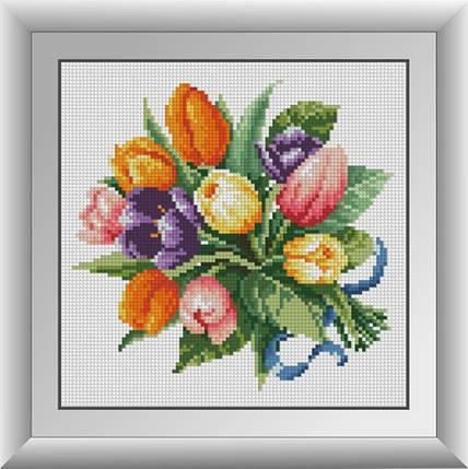 30444 Набор алмазной мозаики Тюльпаны, фото 2