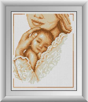 30447 Набор алмазной мозаики Мать и ребенок, фото 2