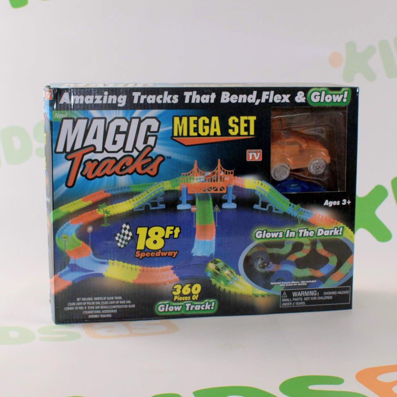Magic Tracks 360 деталей на 3 батарейки Гоночный трек Гарантия качества Быстрая доставка