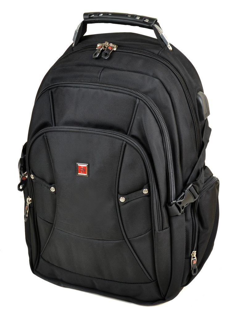 Большой городской рюкзак с жесткой спинкой Power In Eavas 3886 black