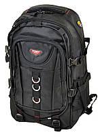 Рюкзак из нейлона Power In Eavas 7219 черный на 2 отделения, фото 1