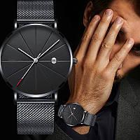 Розкошные кварцевые часы Meibo на браслете