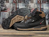 Зимние ботинки  на меху Diesel Denim Division, черные (31061) размеры в наличии ► [  41 42 43  ]