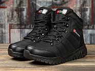 Зимние женские кроссовки 30992, Kajila Fashion Sport, черные ( 37 38 39 40  ), фото 2