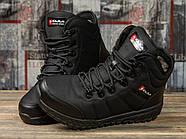 Зимние женские кроссовки 30992, Kajila Fashion Sport, черные ( 37 38 39 40  ), фото 3