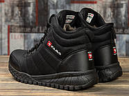 Зимние женские кроссовки 30992, Kajila Fashion Sport, черные ( 37 38 39 40  ), фото 4
