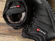 Зимние женские кроссовки 30992, Kajila Fashion Sport, черные ( 37 38 39 40  ), фото 5