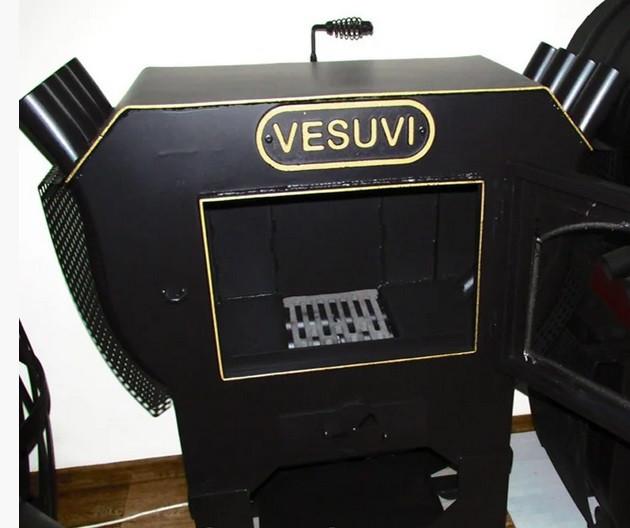 Комплектация каминной топки VESUVI 01