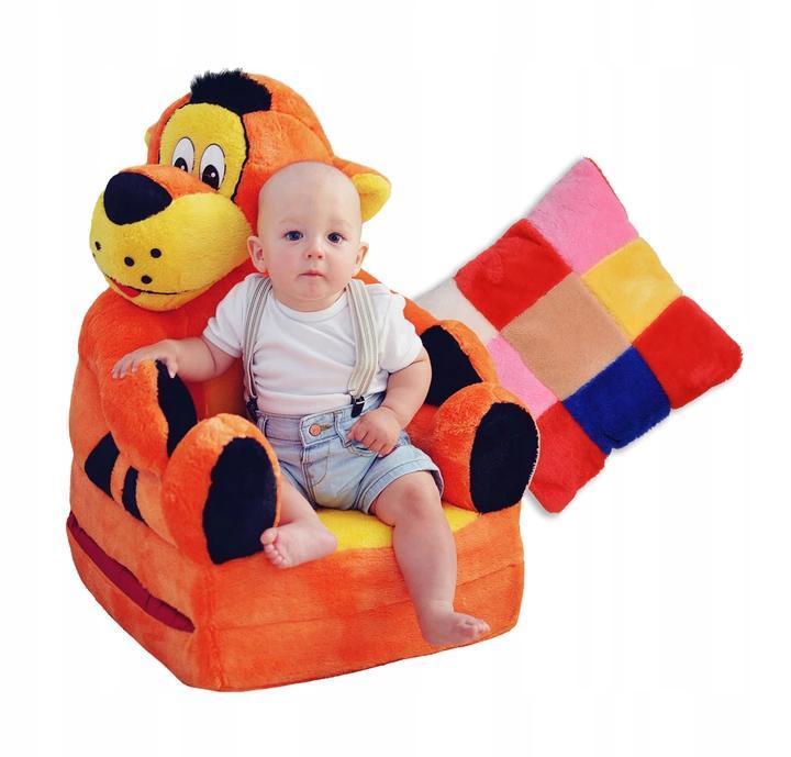 Детское мягкое кресло Tiger