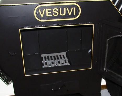 Принцип работы каминной топки VESUVI 01