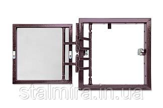 Люк настенный распашной с регулировкой дверцы 200х400х60