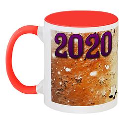 Кружка Новогодняя 2020 (красная)