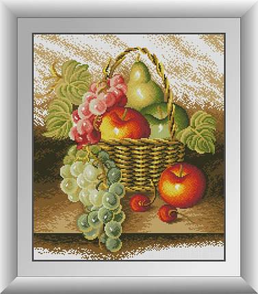 30457 Набор алмазной мозаики Осеннее лукошко, фото 2