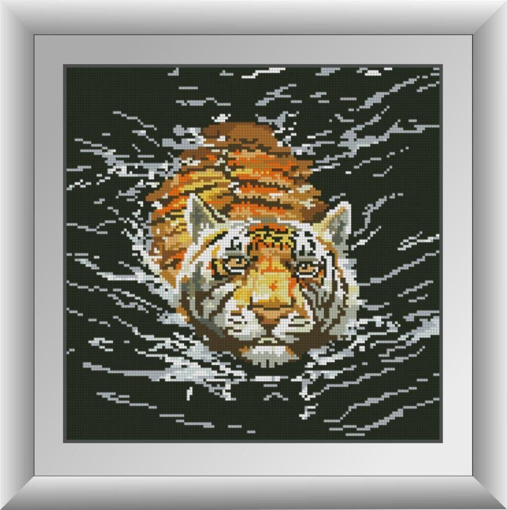30475 Набор алмазной мозаики Тигр