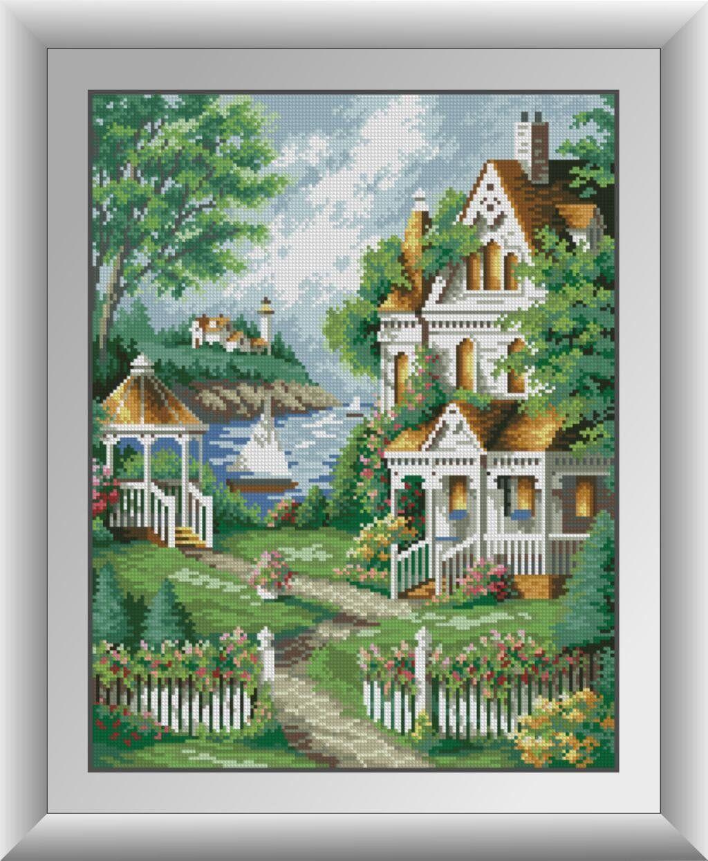 30507 Набор алмазной мозаики Уютный домик