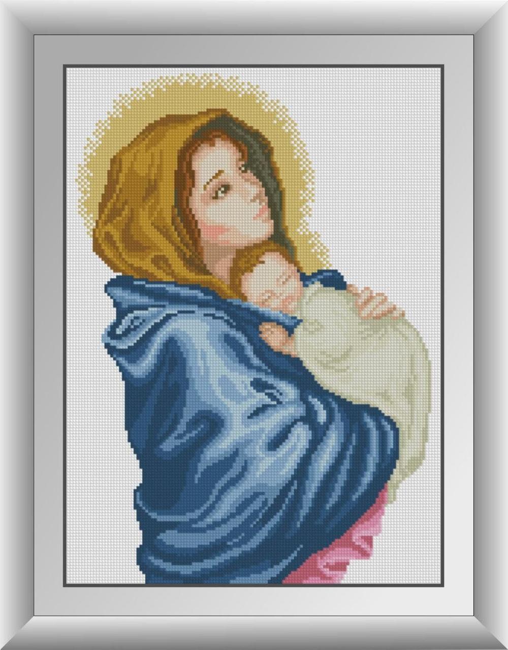 30512 Набор алмазной мозаики Богородица
