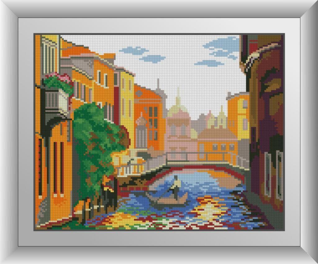 30513 Набор алмазной мозаики Канал в Венеции