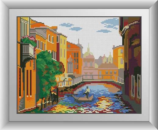 30513 Набор алмазной мозаики Канал в Венеции, фото 2