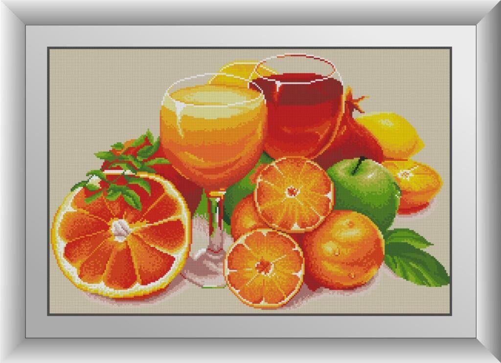 30531 Набор алмазной мозаики Апельсиновый натюрморт