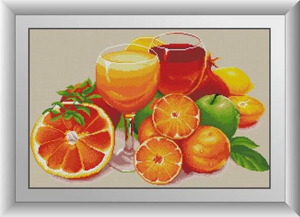 30531 Набор алмазной мозаики Апельсиновый натюрморт, фото 2