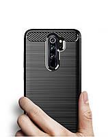 Чехол накладка для Xiaomi Redmi Note 8 Pro черный (black)