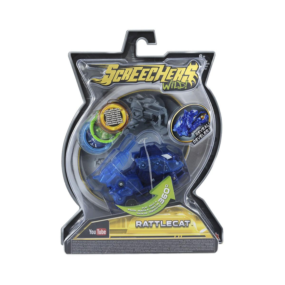 Машинка-Трансформер Screechers Wild! L 2 - Реттлкет