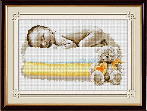 30561 Набор алмазной мозаики Сладкий сон малыша, фото 2
