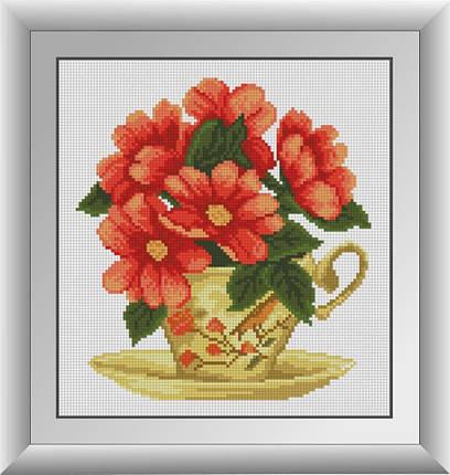 30563 Набор алмазной мозаики Цветочный чай, фото 2