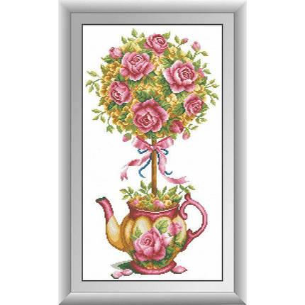 30601 Набор алмазной мозаики Магнолия и розы, фото 2