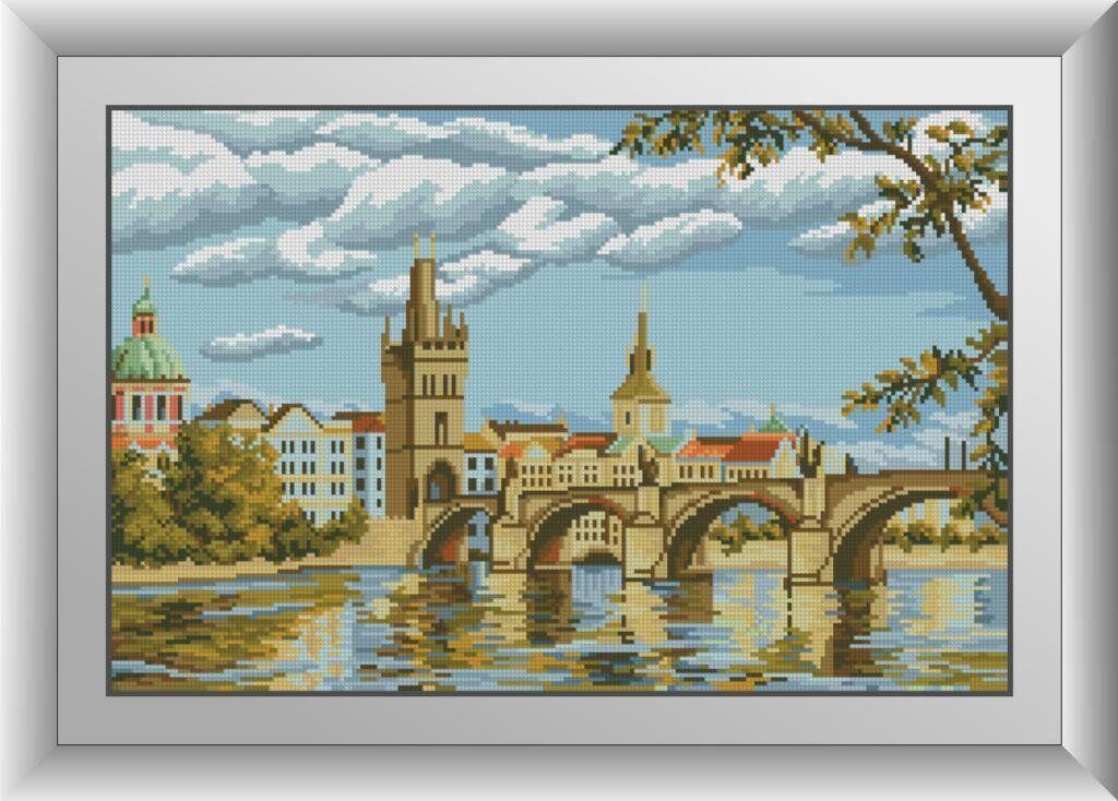 30602 Набор алмазной мозаики Прага