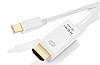 Кабель-адаптер Thunderbolt Mini Displayport к HDMI 4K 30Hz для Macbook Pro Air