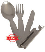 Нож туристический Mil-Tec ARMY 3-PC STAINLESS STEEL EATING UTENS