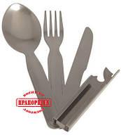 Нож туристический Mil-Tec ARMY 3-PC STAINLESS STEEL EATING UTENS