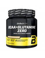 BCAA аминокислоты BioTech BCAA+Glutamine Zero (480 г)