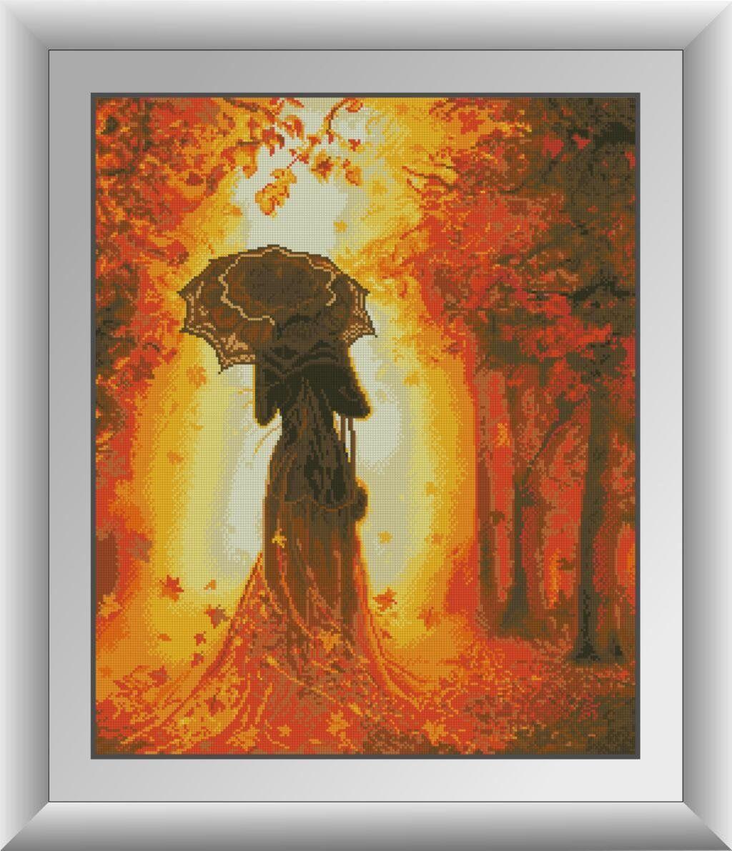 30643 Набор алмазной мозаики Осенняя мелодия