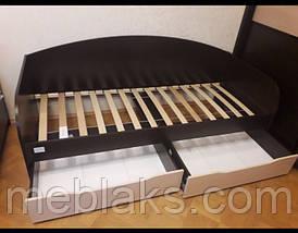 """Кровать односпальная детская """" Л-5 """" 2000х900, фото 2"""