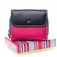 Шкіряний яскравий гаманець Rainbow від DR. BOND
