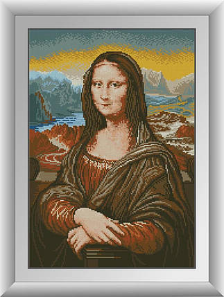 30682 Набор алмазной мозаики Мона Лиза, фото 2