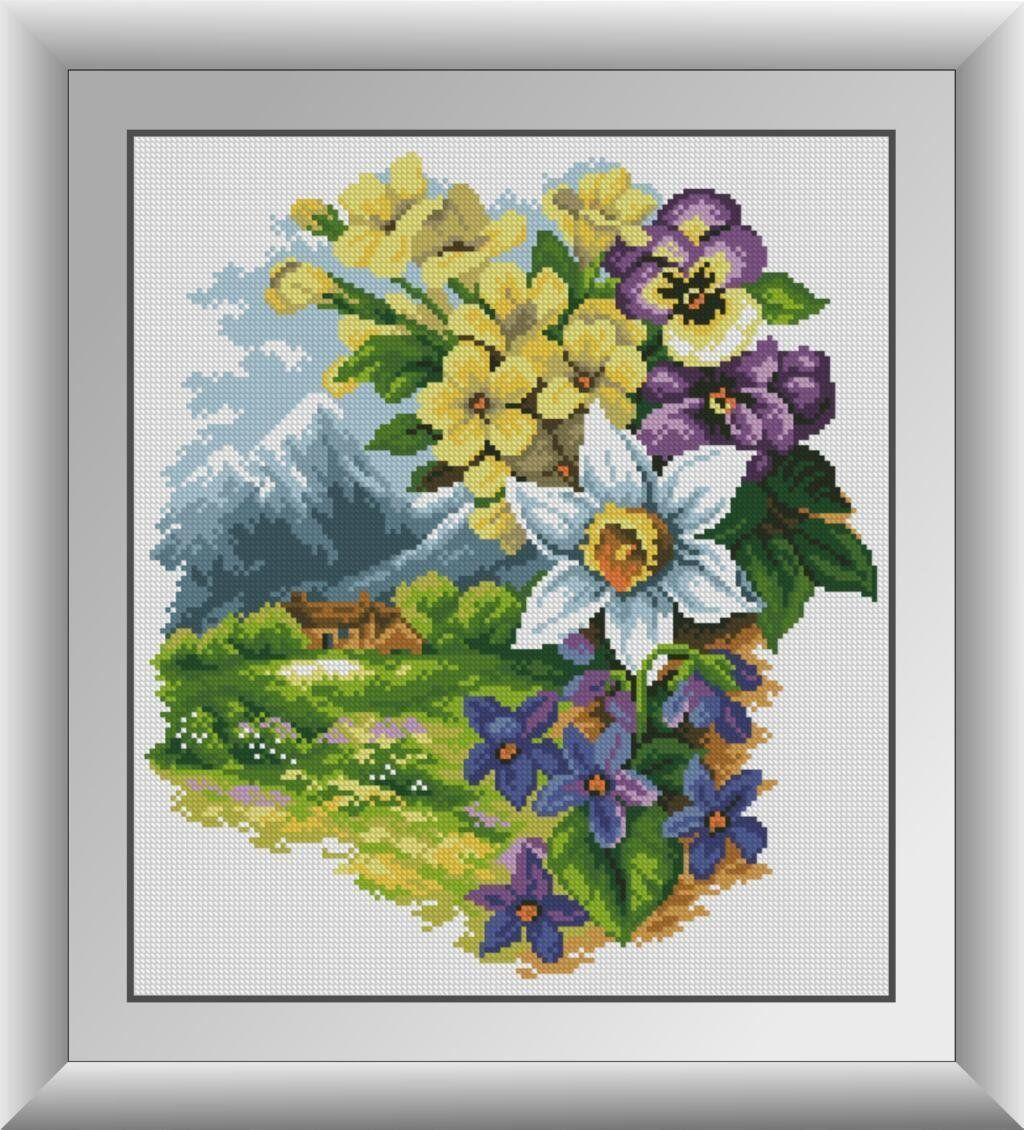 30683 Набор алмазной мозаики Весна